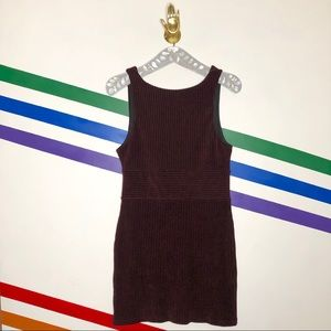 NEW Free People Maroon low back Dress